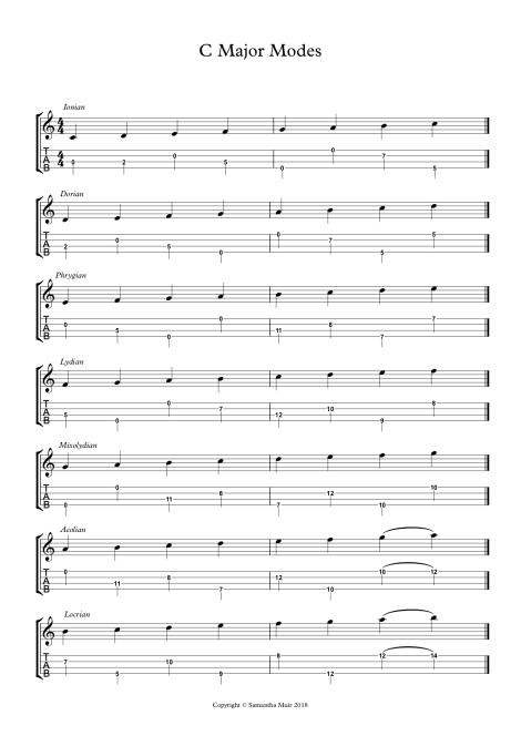 1C Major Modes - Full Score.jpg